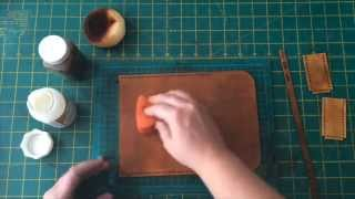 Download Hammered Leatherworks How to dye Leather Mp3 and Videos