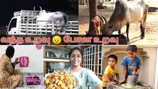 Paint my bedroom results 🙄😂/Full day Routine/ Kids prepare chutney in traditional way /கிழங்கு வடை