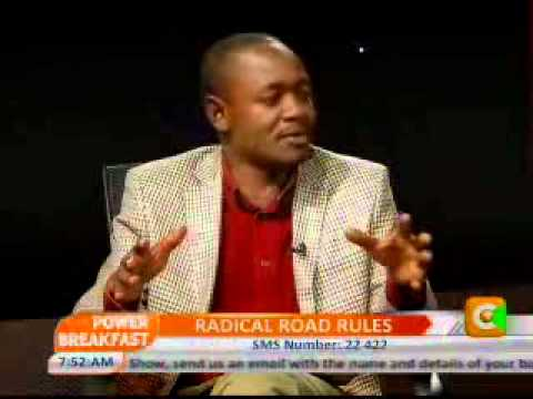 Power Breakfast  Interview with Francis Meja-Director General,NTSA Prt 2