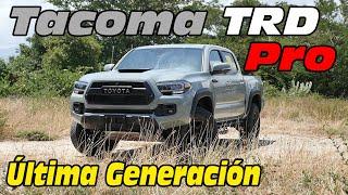 2022  Toyota Tacoma TRD Pro  Prueba  / Análisis / REVIEW