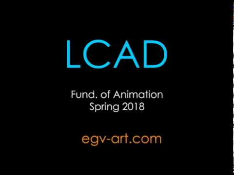 Animation Reel - LCAD spring 2018