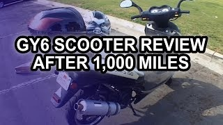 Chinese Scooter After 1,000 Miles (150cc Tao-Tao Lancer GY6)