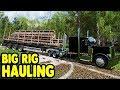 PETERBILT LOGGING TRUCK BIG HAUL | Farming Simulator 17 Multiplayer Gameplay
