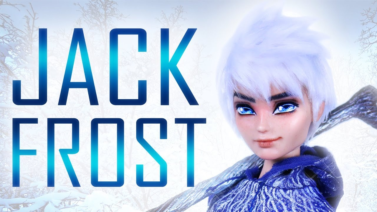 Custom Jack Frost Doll [ RISE OF THE GUARDIANS OOAK ]
