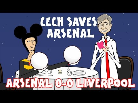 Petr 🏻Cech and Simon Mignolet Save Those Balls! (Arsenal 0-0 Liverpool trailer song parody)