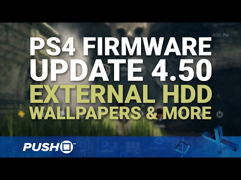 PS4 Firmware Update 4.50: External HDD, Wallpapers, PS4 Pro Boost Mode | PlayStation 4 News