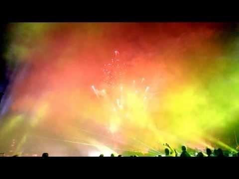 Fireworks NFL Kickoff 2013