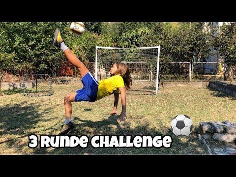 3 ROUND FOOTBALL CHALLENGE