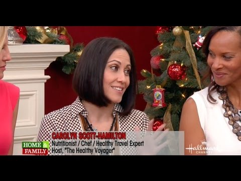 Holiday Travel Tips on Hallmark Home & Family with Carolyn Scott-Hamilton