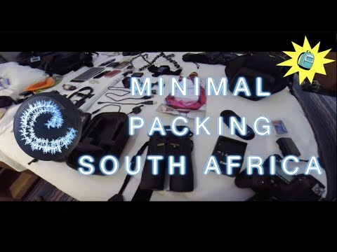 Minimal Packing: South Africa