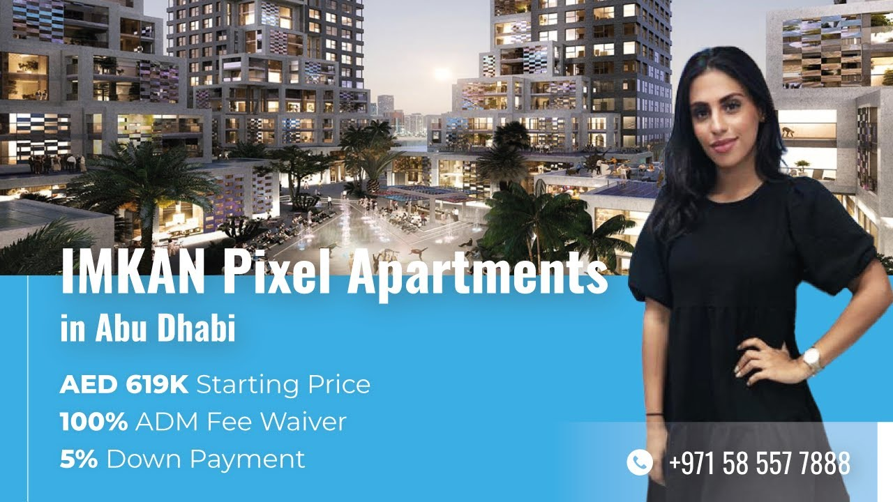 IMKAN Pixel: Apartments for Sale in Abu Dhabi