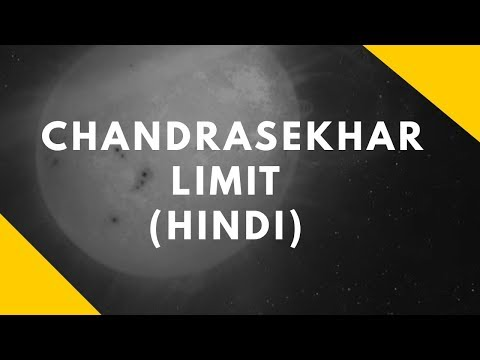 chandrasekhar limit black hole explained !