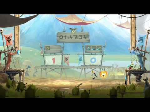 Rayman Legends Kung Foot Gameplay
