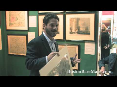 Boston Rare Maps at The Ellis Boston Antiques Show