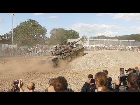 M48 A2GA2 + Leopard 1A2 + T62 - Stahl Auf Der Heide 2017