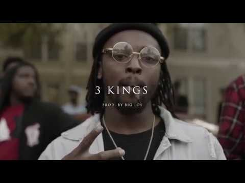 Pape x Young Crazy x Breeze Barker - 3 Kingz | Shot By Vidlord