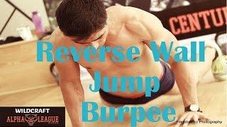 Burpee Variation 7 - Reverse Wall Jump Burpee