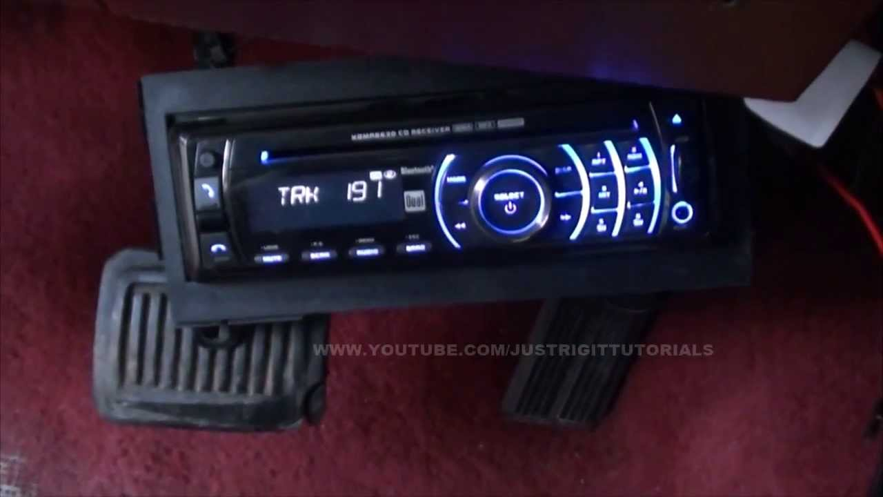Adding 12 Volt Constant To A Cd Player Memory Wire Youtube 85 Toyota Radio Wiring