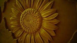 Резьба по дереву. Кашпо для цветов. Часть 4(Материал - липа. Рисунок произвольный., 2015-10-02T22:13:02.000Z)