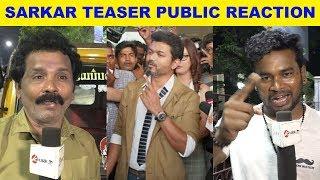 Sarkar Teaser Public Reaction | #Thalapathy | #Vijay | #ARmurugadoss | ARRahman | Sarkar