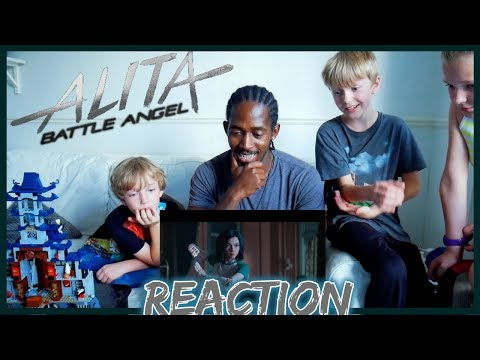 BEST ANIME TO MOVIE ADAPTATION? | Alita: Battle Angel | Official Trailer Reaction | 20th Century FOX