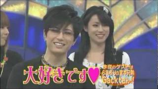 Tribute to Gackt's effect on people around him. Even Shingo Mama fe...