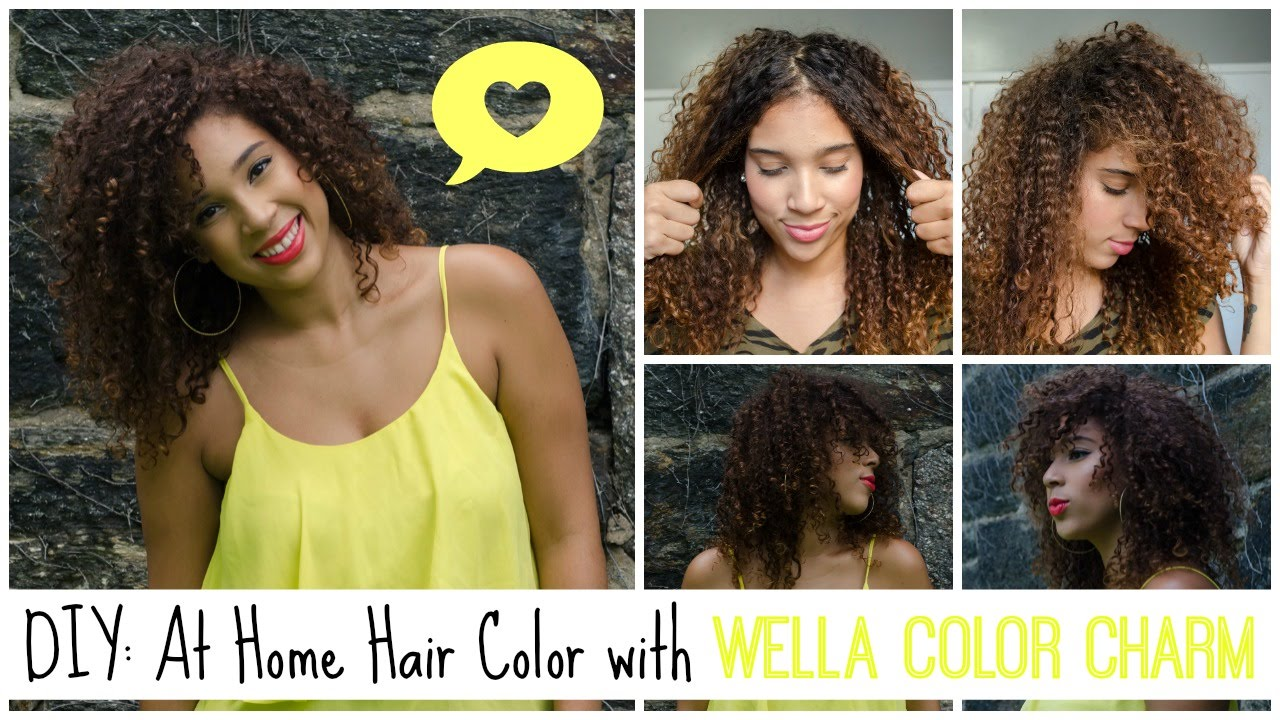 Diy At Home Color With Wella Color Charm Giveaway Closed Youtube