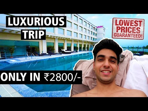 5 STAR RESORT at such AFFORDABLE PRICE! Ramada neemrana solo trip vlog
