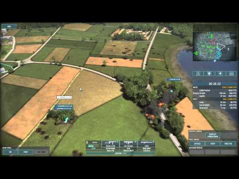 Wargame AirLand Battle 3v3 on Bergen using Full Denmark Deck
