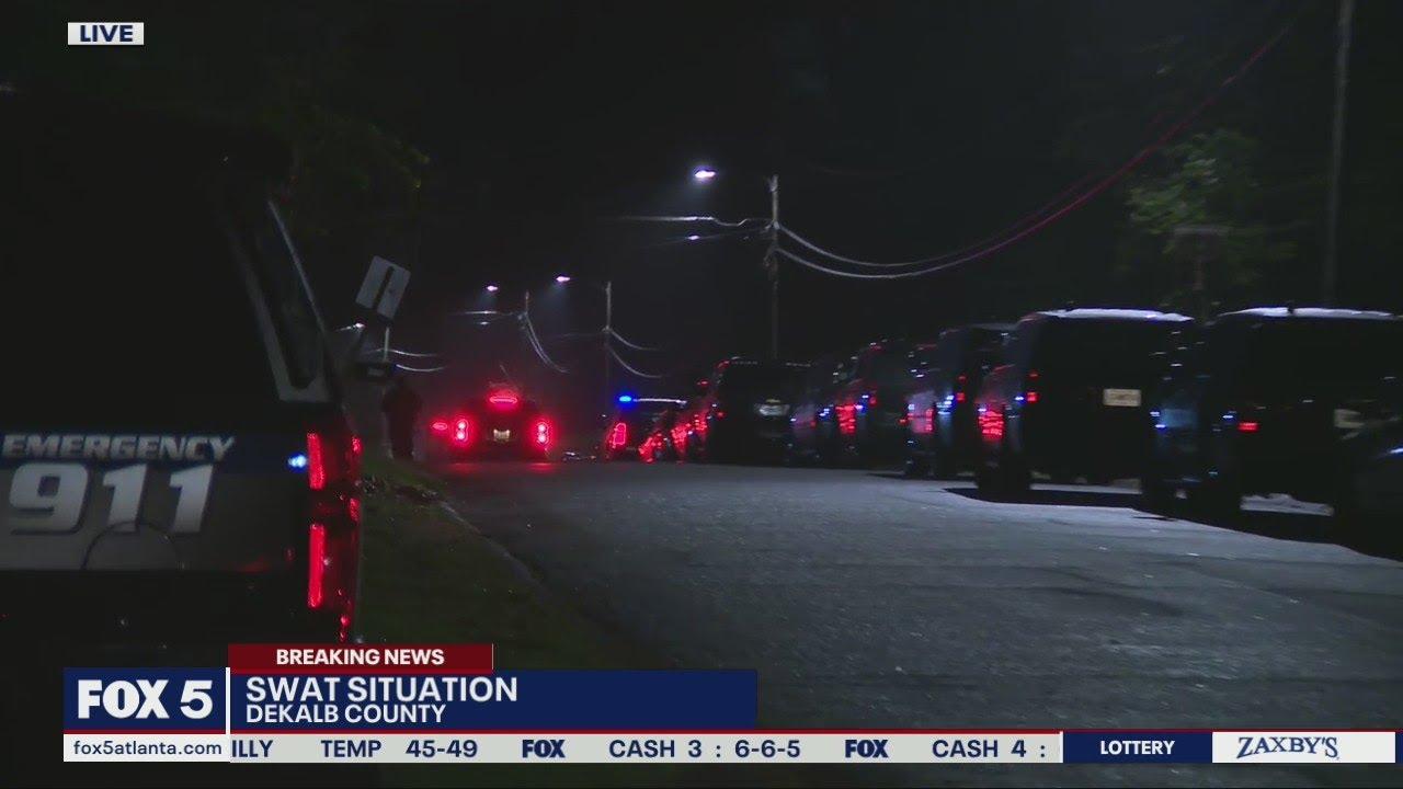 SWAT situation in DeKalb County