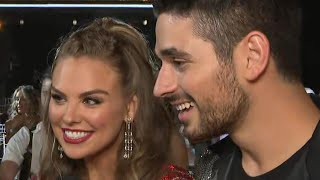 'DWTS': Hannah Brown and Alan Bersten on Those Showmance Comments During the Premiere (Exclusive)