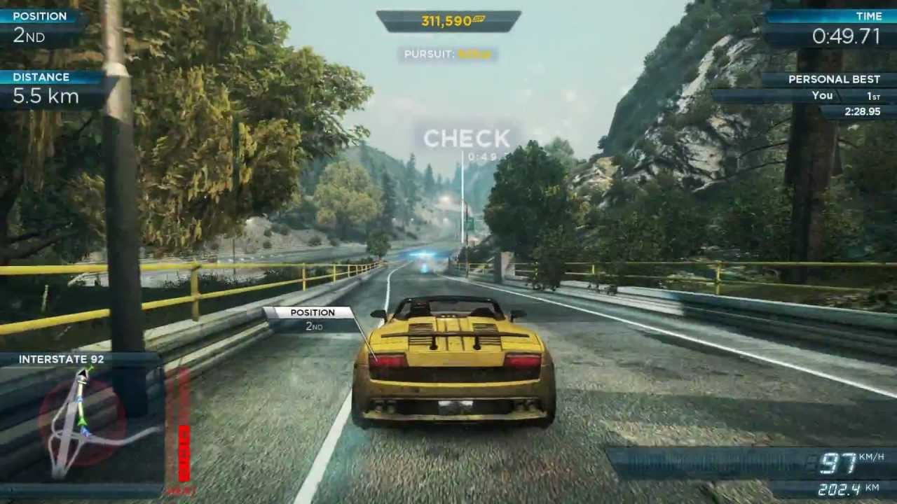 NFS Most Wanted 2013 Gameplay (11-8) - YouTube