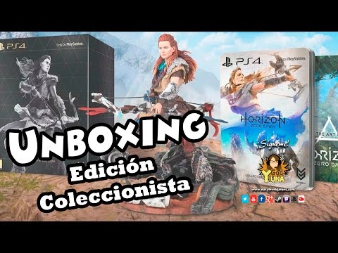 Horizon Zero Dawn - Unboxing Collector´s Edition PS4 II Español