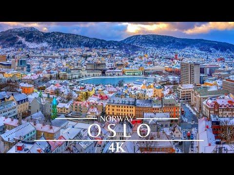OSLO 4K Norway /Oslo Drone Cinematic Footage