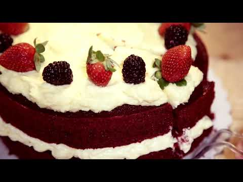 Heavenly Exquisite Red Velvet Cake using BBBmix Red Velvet Premix by Brown Butter Bakes (Updated)