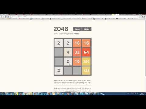 Como ganhar no jogo 2048