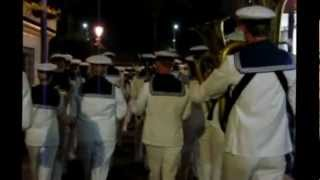 The Royal Swedish Navy Cadet Band - City March of Torrevieja, Spain Thursday 23rd of August 2012