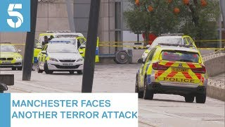 Manchester stabbings: Man arrested after attack in Arndale Shopping Centre | 5 News