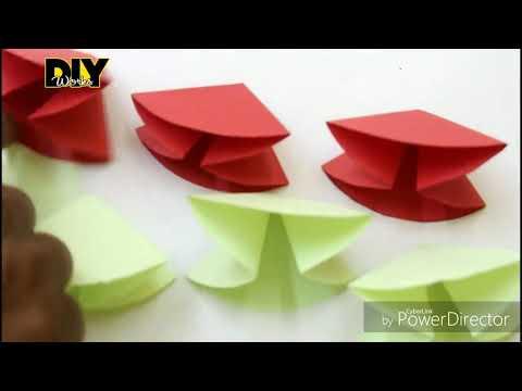 DIY 3d paper art