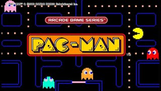 Dig Dug,  Galaga, Pacman