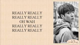WINNER - REALLY REALLY (Easy Lyrics)