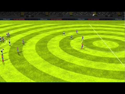 FIFA 14 iPhone/iPad - Ghana vs. United States Circus Goal