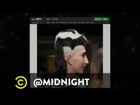 Internet Celebrities Take Legal Action - @midnight with Chris Hardwick