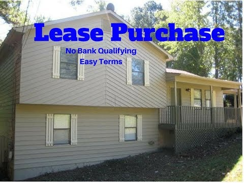 Rent To Own, Lease Purchase Lawrenceville Georgia