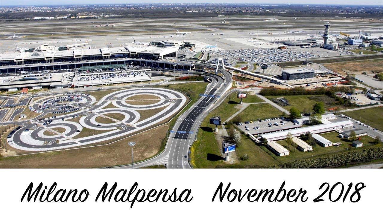 Milan Malpensa International Airport MXP  Italy   November ...