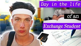 A *Realistic* Day in the Life of a British Exchange Student at University