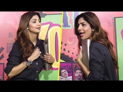 OMG! Shilpa Shetty OPENS Her SHIRT's BUTTON In Public thumbnail