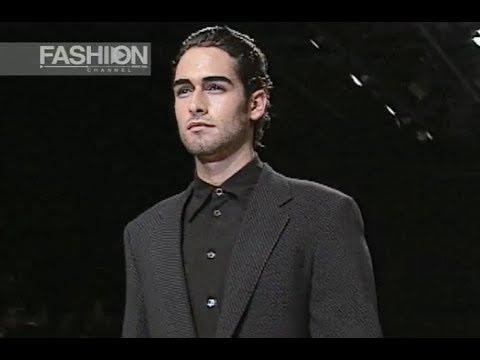 GIORGIO ARMANI Fall Winter 1998 1999 Menswear Milan - Fashion Channel