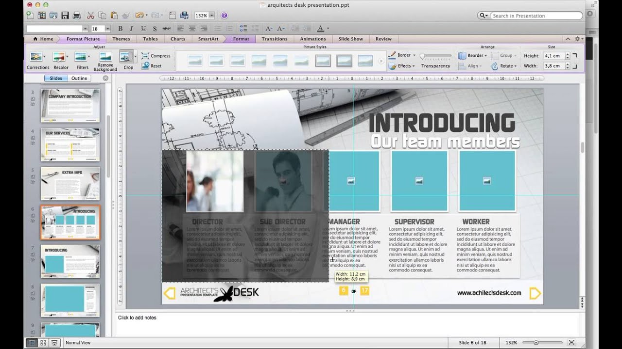 Architects desk powerpoint presentation tutorial youtube toneelgroepblik Gallery