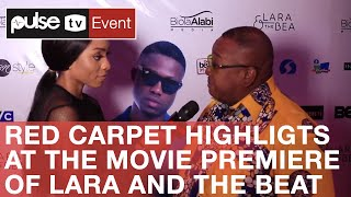 Red Carpet Highlights At The Movie Premiere Of Lara And The Beat | Pulse Tv